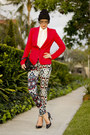 Black-diy-hat-red-jersey-zara-jacket-white-silk-zambessi-shirt