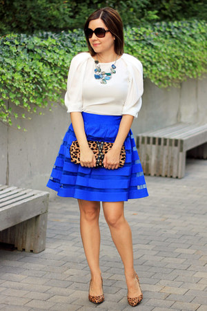 asos skirt - Zara blouse