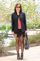 Zara skirt - BCBG blazer