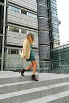 Zara jacket - ewigem dress - Etnia Barcelona sunglasses