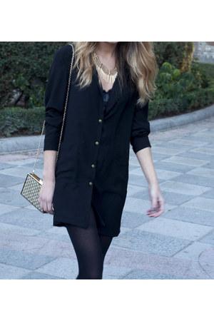 Zara shoes - mavila dress - suiteblanco bag - H&M necklace