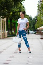 Oasapcom shoes - Sheinsidecom jeans - marco polo t-shirt