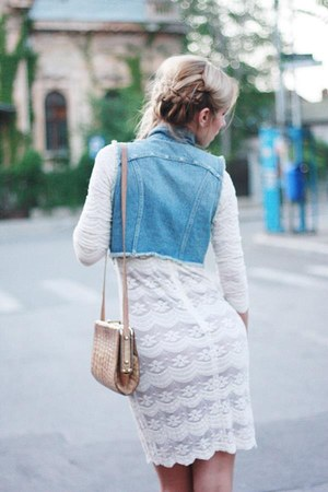 ivory lace Pnk Casual dress