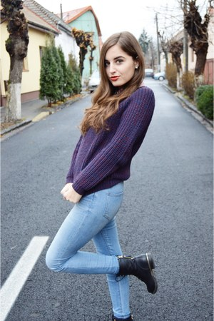 New Yorker sweater - CCC boots - H&M jeans