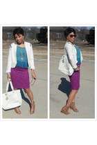 Forever 21 blazer - Chanel bag