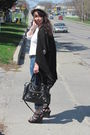 Black-sweater-blue-jeans-black-forever21-shoes-black-purse-white-goodwil