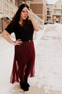 Black-forever-21-shirt-crimson-sheer-goodwill-skirt-suede-vanity-wedges-si