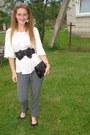 Reserved-pants-vintage-blouse