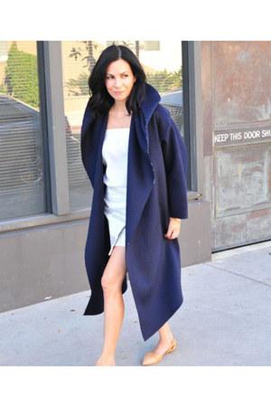 Venia Collection coat - madewell flats - Parker skirt - Gorjana necklace