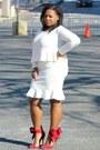 Ivory-forever-21-blouse-ivory-asoscom-skirt-red-aminah-abdul-jillil-heels