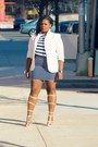 Navy-h-m-shirt-navy-h-m-skirt-white-boohoo-sandals