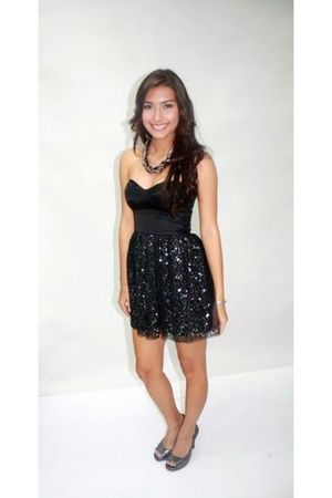 black Miss Selfridge dress