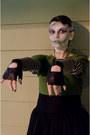 Black-diy-bag-chartreuse-delias-sweater-olive-green-target-tights