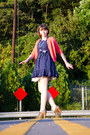 Navy-target-dress-beige-target-tights-light-orange-kids-old-navy-cardigan