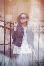 Forever-21-dress-esprit-blazer-zara-shirt-bijoux-brigitte-sunglasses