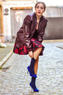 Ruby-red-new-look-dress-crimson-zara-jacket-other-stories-bag