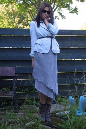vintage blazer - vintage dress