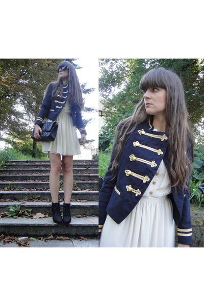 Ralph Lauren jacket - Queens Wardrobe dress - Chanel bag