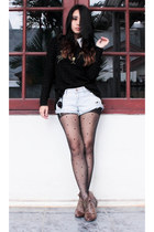 rubi boots - cotton on shorts