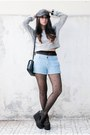 Zara-bag-stradivarius-hat-thrifted-tights-cotton-on-shorts