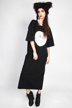 black maxi dress DEAR LOLA dress