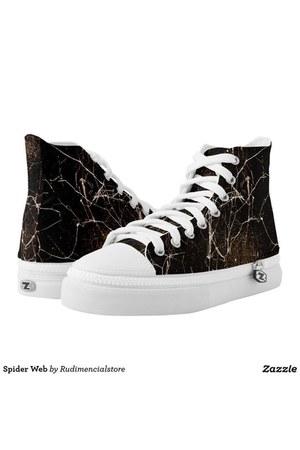 black DFLCPrints shoes - white DFLCPrints shoes