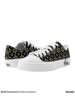 dark skulls DFLCPrints shoes - dark skulls DFLCPrints shoes