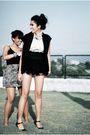 Black-boutique-top-gray-forever21-skirt-black-distrikmode-vest-black-micha