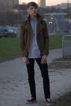 H&M shoes - H&M jacket - H&M shirt - H&M pants