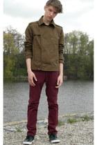 H&M jacket - H&M pants - H&M sneakers