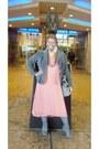 Blazer-diy-skirt-dress-skirt
