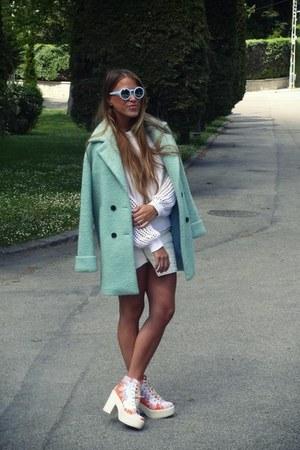 anna xi coat - ivy revel sweater - shellys london heels