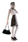 Brown-vintage-skirt-beige-pinko-vest-brown-miu-miu-purse-beige-d-g-cardiga