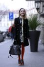 Green-marni-dress-brown-marni-shoes-black-prada-coat-black-prada-purse