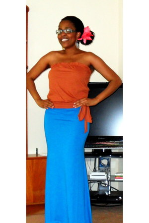 skirt - top - accessories