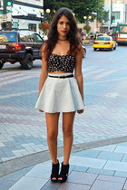 Forever 21 top - American Apparel skirt
