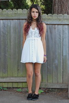 off white Sheinside dress