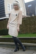 Dress dress - H&M tights - see by chlo shoes - SIX accessories - Ilovevintage ne