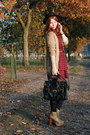 Camel-litas-jeffrey-campbell-boots-brick-red-dotted-dahlia-dress