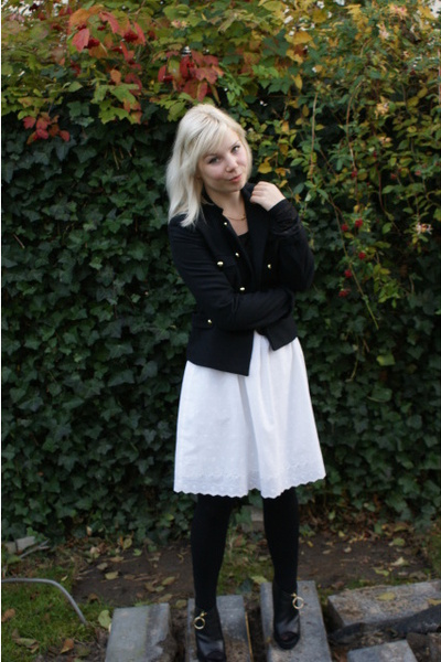 H&amp;M jacket - vintage skirt - Vila top - Givenchy boots