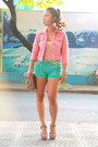 Bubble-gum-from-korea-jacket-heather-gray-miu-miu-bag