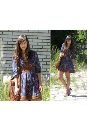 Stradivarius dress - H&M bag - H&M clogs