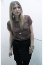 Fringe-top-topshop-top-leather-inserts-topshop-skirt-apple-ring-marc-by-marc