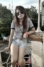 Heather-gray-oxford-forever-21-shoes-light-blue-maurice-malone-shorts
