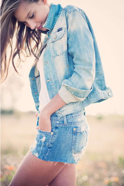blue Fidelity Denim jacket