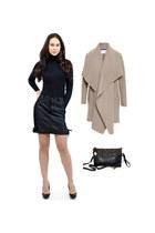 black Danice Stores shirt - black Danice Stores bag - black Danice Stores skirt