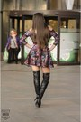 Black-black-leather-boots-dress