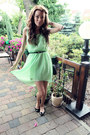 Lime-green-dress