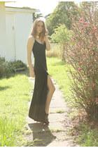 asos dress - leather Zara heels