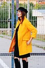 Black-nissa-boots-black-zara-dress-gold-zara-coat-black-primark-hat